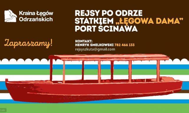 """Szkuta """"Łęgowa Dama"""""""