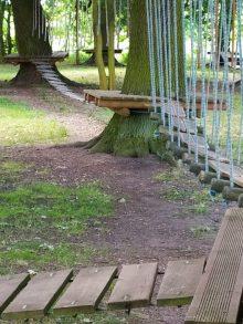Park linowy w Wojszynie