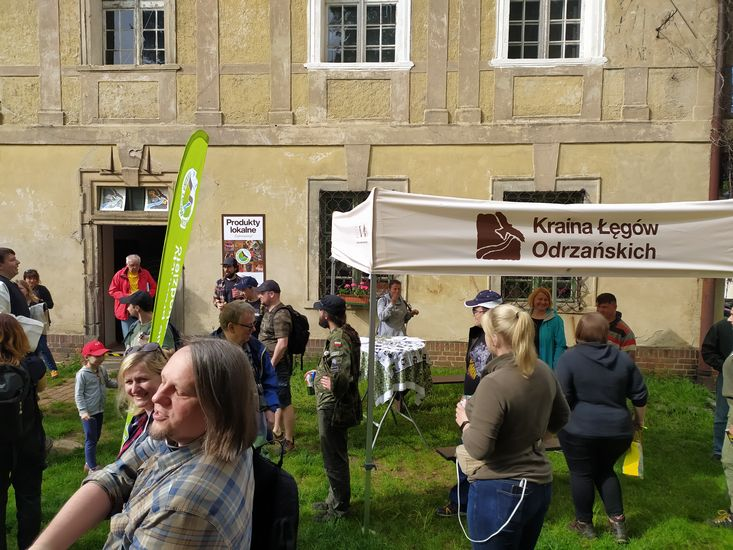 Informacja Turystyczna w Lubiążu na Szlaku Odry