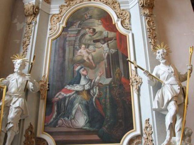 Ołtarz świętej Jadwigi w Głębowicach – obowiązkowy przystanek na rowerowym Szlaku Odry