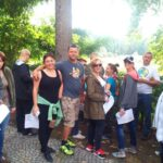 Grupa z Questem na szlaku Odry